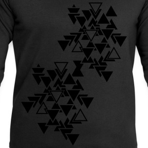 Triangles graphic pattern Tops - Men's Sweatshirt by Stanley & Stella