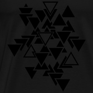 Triangles motif graphique Vêtements de sport - T-shirt Premium Homme