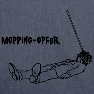 Mopping-Opfer T-Shirts - Schultertasche aus Recycling-Material