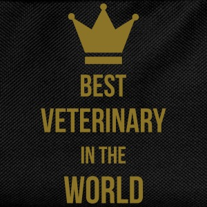 Best Veterinary in the world T-shirts - Rygsæk til børn