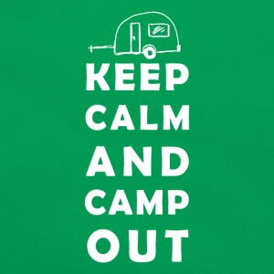 keep calm camping T-shirts - Retro taske