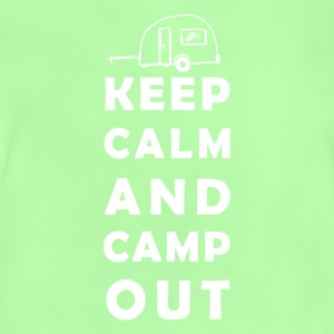 keep calm camping Shirts - Baby T-Shirt