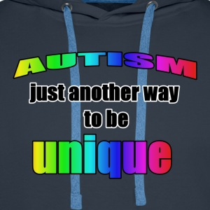 Autism-Unique T-Shirts - Men's Premium Hoodie