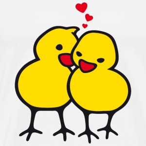 Chicks in Love - T-shirt Premium Homme