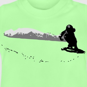 Downhill Longboard Skater in Action T-Shirts - Baby T-Shirt