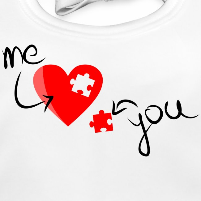 Liebe und Herzpuzzel
