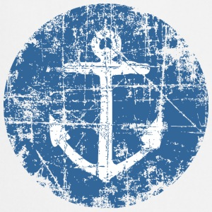 Anchor Sign Vintage Blue Sailing Design Tee shirts - Tablier de cuisine