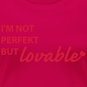 not perfect Manches longues - T-shirt Premium Femme