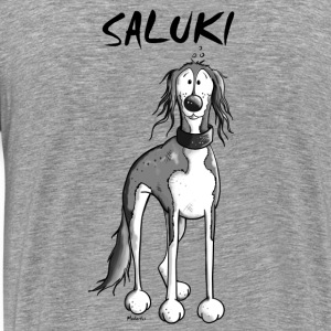 Cute Saluki Long sleeve shirts - Men's Premium T-Shirt