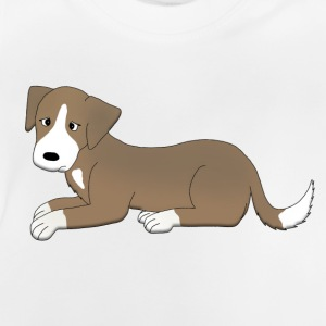 sad dog Langærmede shirts - Baby T-shirt