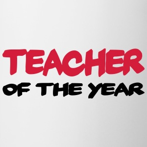 Teacher of the year Magliette - Tazza