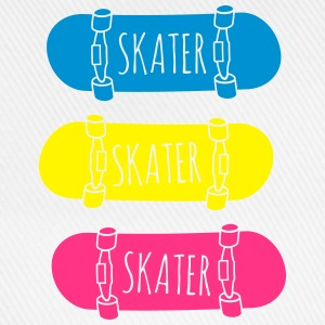 Skater Skateboards patineur skateboards Sweat-shirts - Casquette classique
