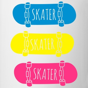 Skater Skateboards pattinatore skateboards Magliette - Tazza