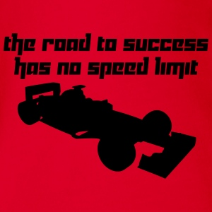 The road to success has no speed limit (Vector) - Baby Bio-Kurzarm-Body