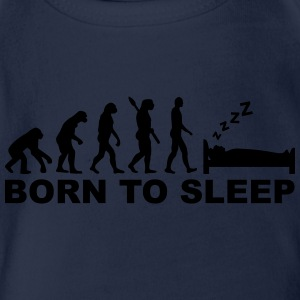 Evolution Schlafen T-Shirts - Baby Bio-Kurzarm-Body