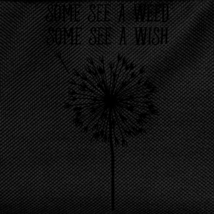 Some See A Weed, Some See A Wish Maglie a manica lunga - Zaino per bambini