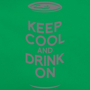 keep cool and drink on Magliette - Borsa retrò