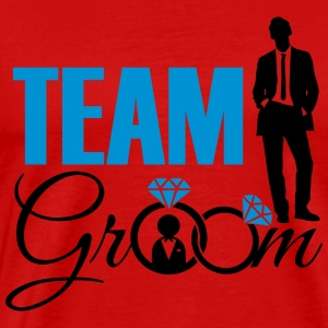 Team Groom Singlets - Premium T-skjorte for menn