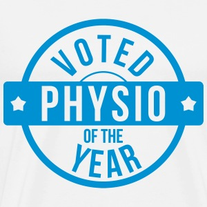 Voted Physio  of the Year Tabliers - T-shirt Premium Homme