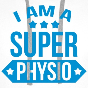 I am a Super Physio T-Shirts - Men's Premium Hoodie
