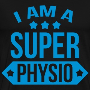 I am a Super Physio Forklær - Premium T-skjorte for menn