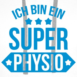 Ich bin ein Super Physio Shirts - Men's Premium Hoodie