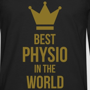 Best Physio in the world T-Shirts - Männer Premium Langarmshirt
