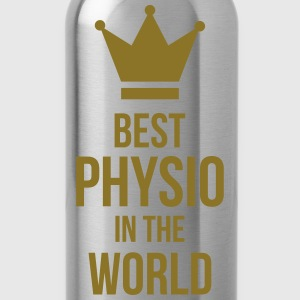 Best Physio in the world T-Shirts - Water Bottle