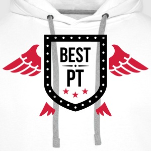 Best PT (Physio) T-Shirts - Men's Premium Hoodie