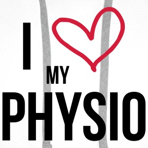 I Love my Physio T-Shirts - Men's Premium Hoodie
