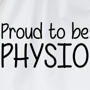 Proud to be Physio Magliette - Sacca sportiva