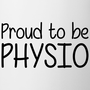 Proud to be Physio T-skjorter - Kopp