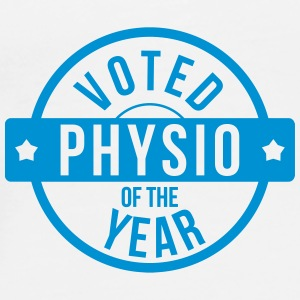 Voted Physio  of the Year Caps & Hats - Men's Premium T-Shirt