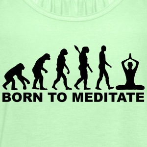 Evolution Meditation T-Shirts - Frauen Tank Top von Bella