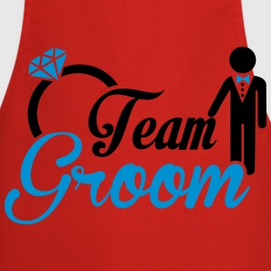 Team Groom T-Shirts - Cooking Apron