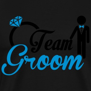 Team Groom Tank Tops - Men's Premium T-Shirt