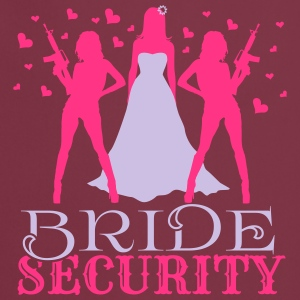 Bride Security Top - Grembiule da cucina