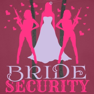 Bride Security Tops - Men's Premium Hoodie