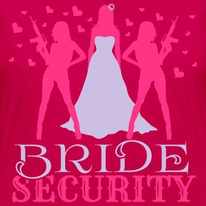 Bride Security Top - Maglietta Premium a manica lunga da donna