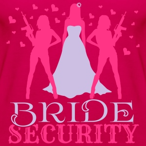 Bride Security T-shirts - Dame Premium tanktop