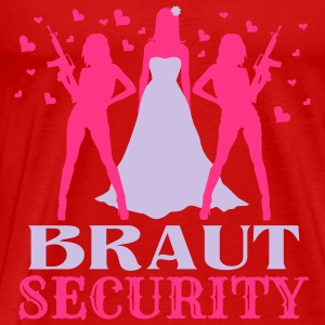 Braut Security JGA Tops - Männer Premium T-Shirt