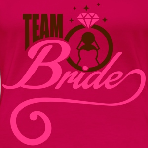 Team Bride Tops - Vrouwen Premium T-shirt