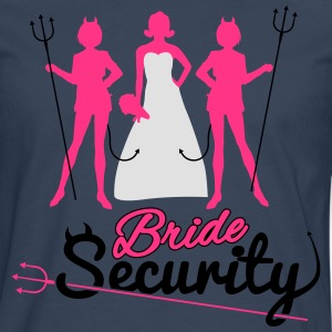 Bride Security Tee shirts - T-shirt manches longues Premium Homme