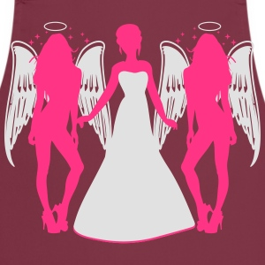 Bride's Angles T-shirts - Förkläde