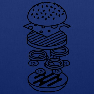 Marine burger Tee shirts - Tote Bag