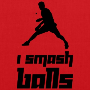 I smash balls (Vector) - Tote Bag
