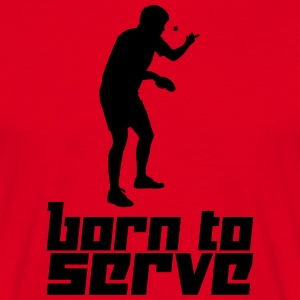 Born to Serve (Vector) - Männer T-Shirt