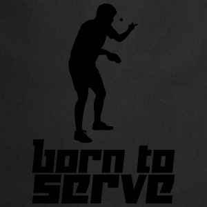 Born to Serve (Vector) - Cooking Apron
