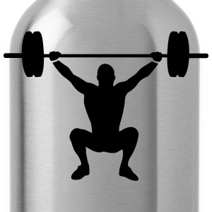 weight lifting T-Shirts - Water Bottle