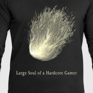 Large Soul of a  Gamer - Men's Sweatshirt by Stanley & Stella